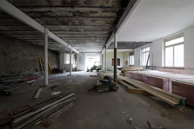 So sehen die Räume an der Lessingstrasse jetzt noch aus, voraussichtlich im Sommer 2019 soll es losgehen.